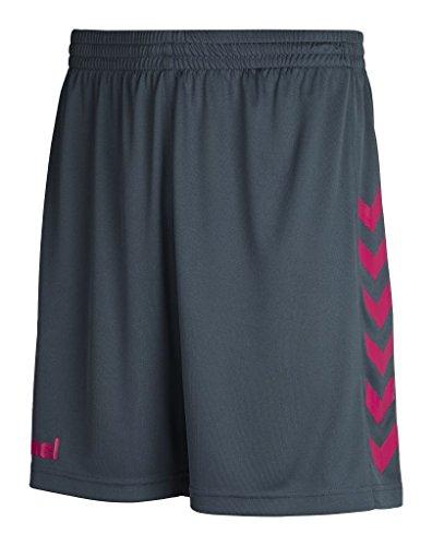 Hummel Core - Pantaloncini da uomo in poliestere Grigio Dark Slate/Virtual pink M