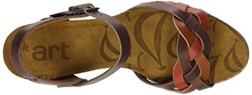 ART Damen 1110 Mojave I Laugh Sandalen mit Knöchelriemen Braun (Multi Brown)