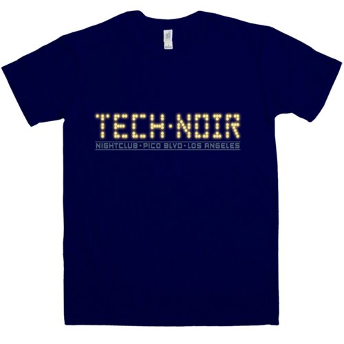 Mens Tech Noir Terminator T Shirt by 8Ball