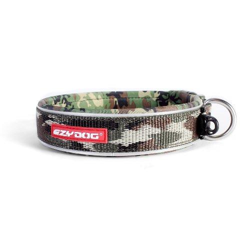 hundeinfo24.de EzyDog Hundehalsband, Größe M, Tarnfarbenmuster