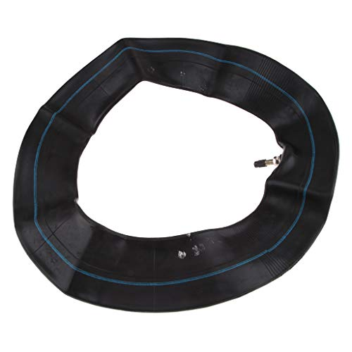 Almencla Schwarz Gummi Innenrohr für Reifen, passend für 125ccm 140ccm 150ccm Motorrad Dirt Bike - Motorrad Bike Dirt Reifen