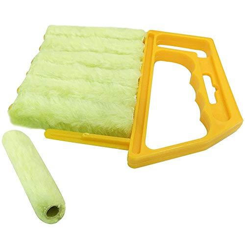 Duzhixi Reinigungsbürste Blinds Reinigungsbürste Mini-Blind Reiniger Abnehmbare Waschbare Blinds Brush für Badezimmer Küche Küche Blind
