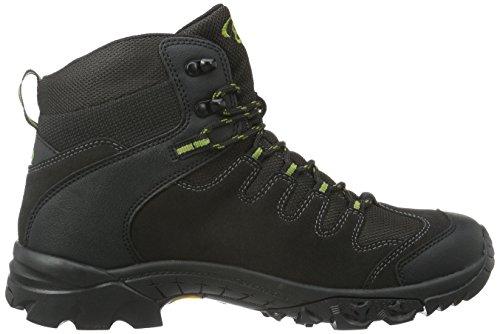 Brütting 221128, Chaussures de Randonnée Hautes Homme Gris (Anthrazit/Gruen)