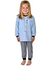 84d05b939c Kinder Schlafanzug Pyjama Kinderschlafanzug Kätzchen Farbe: blau, ...