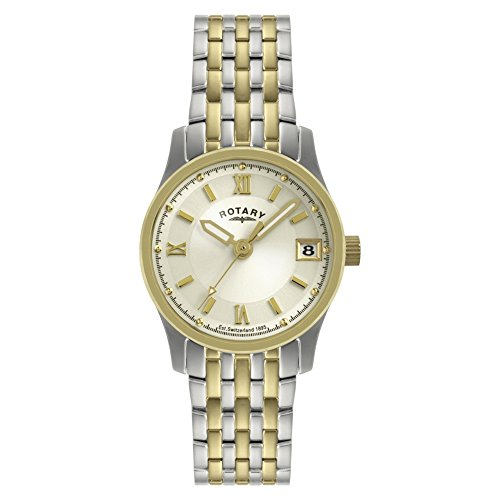 Rotary Champagne Dial Bracelet Watch LB00793/09