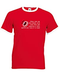 Juko Jim Bowen Host Of Bullseye TV Darts 1367 Ringer T Shirt.