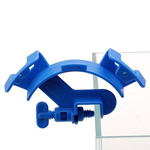ration Schlauchhalter Wasserrohr Clip Filter Halterung Schlauch tropisches Aquarium sauber Pumpenbefestigungsklammer ()