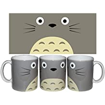 Taza Totoro cara + chapa