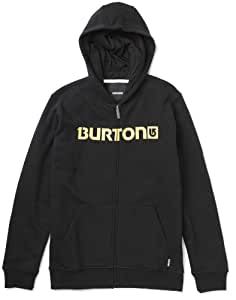 Burton Kinder Kapuzenpullover Logo Horz Fz, True Black, S(SM8), 287407002Sm8