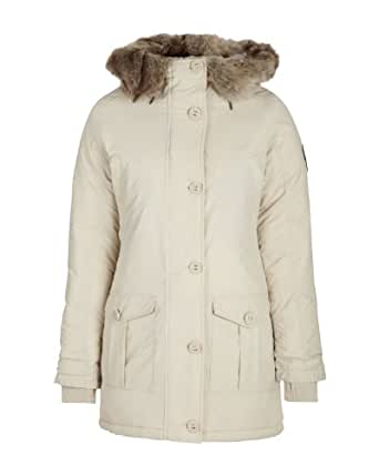 Bench Damen Jacke Parka Greenland Beige (oatmeal) Medium