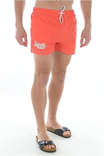 Short de Bain Japan Rags Jap 04 Corail Orange