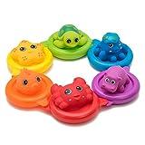 Vital Baby Swim Ring Bath Toy Squirters