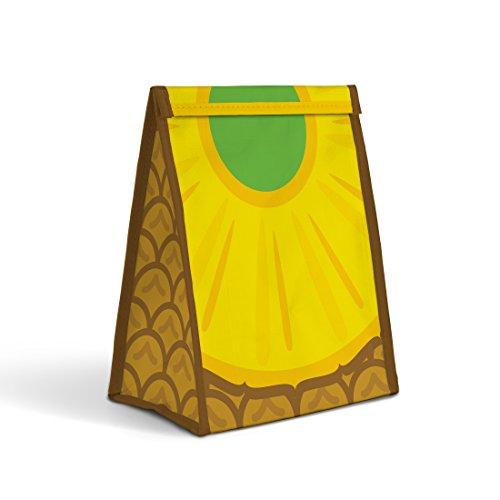 Mustard Froot Sandwich - Bolsa para Comida I Bolsa almuerza para Llevar Comida y sándwiches I Porta Alimentos - diseño de piña