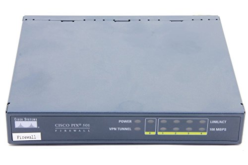 Cisco Systems PIX 501 Security Network Appliance 4-Port VPN Firewall 47-10539-01 (Generalüberholt) (Cisco Wireless-netzwerk-adapter)