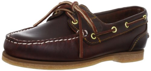 Timberland Classic Amherst 2-Eye, Damen Bootsportschuhe, Braun (Brown (Rootbeer Smooth)), 38 EU (5 Damen UK)