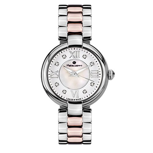 Mathieu Legrand Reloj con movimiento cuarzo suizo Woman 28 mm