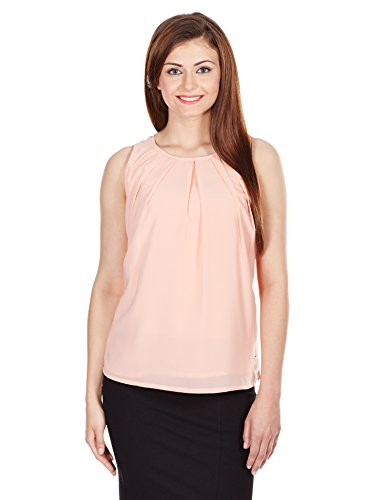 Pepe Jeans Women's Body Blouse Top (ISOBAL SL_Peach_pink_Medium)