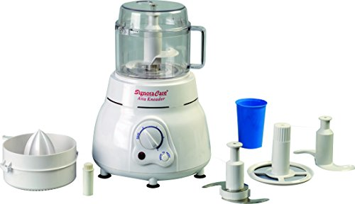 Signora Care Daily Collection 650 Watts Atta Kneader/Food Processor - White