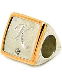 Clogau Alphabet Milestone Bead Charm Letter K