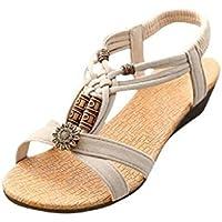 Familizo scarpe donne elegante la moda Casual peep-toe con fibbia