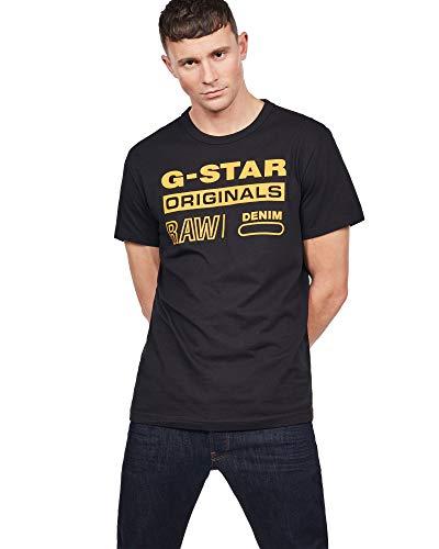 Ärmelloses Graphic T-shirt (G-STAR RAW Herren Swando Graphic Regular T-Shirt)