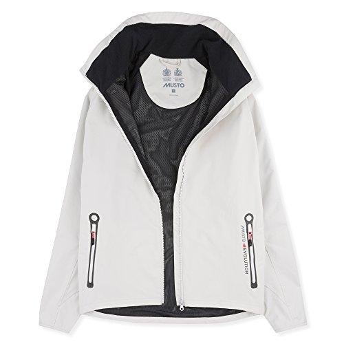 Musto 2017 Essential Crew BR1 Jacket Platinum EMJK074 Sizes- - Medium - Bootfahren Herren Bekleidung