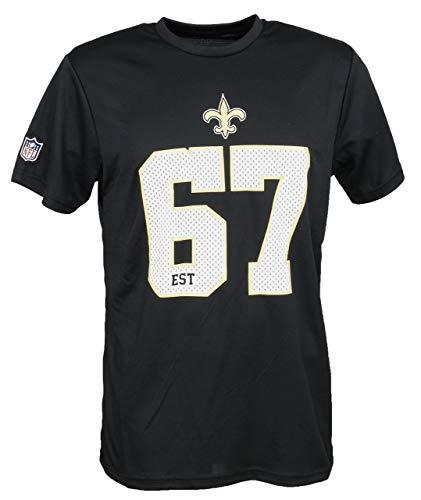 New Era New Orleans Saints NFL T Shirt New Era American Football Schwarz - S