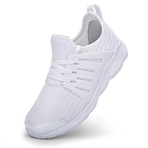 tqgold Unisex-Bambini Scarpe da Ginnastica Running Sportive Interior  all Aperto Tennis Basse Sneakers per Ragazzi Ragazze 64081294d37