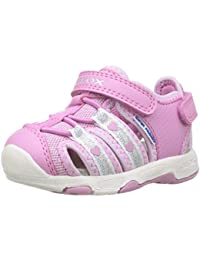 Geox Baby Girls' B Sandal Multy Girl C Walking Baby Shoes