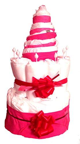 Windeltorte Mädchen   Girls Cake