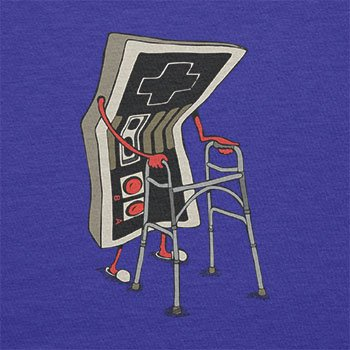 TEXLAB - Old Controller - Herren T-Shirt Marine