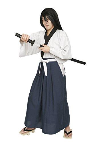 Männer Kostüm Dieb - Grosse Dieb Serie Samurai Fechter Kostuem Maenner ~ 180cm [Clear Stein Genuine]