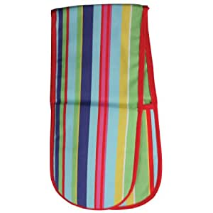 Rushbrookes Double Oven Glove, Barcode, Brights