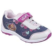 Leomil Womens Skye Touch Fastening Sport Shoe White/Blue/Pink Size UK 7 EU 24