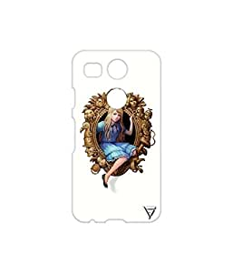 Vogueshell Mirror Queen Printed Symmetry PRO Series Hard Back Case for LG Nexus 5X