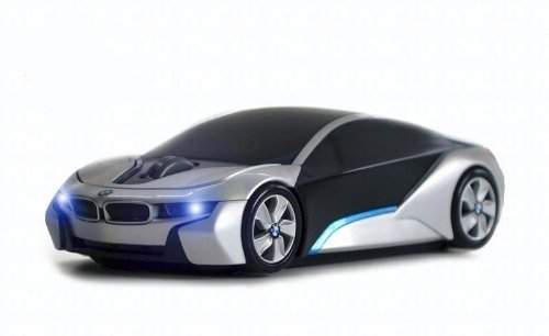 Mkw 6956046030003 Bmw I8 Concept Wireless Mouse Silver Lm 13clmi8csi