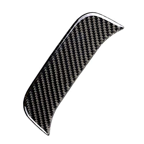 Minzhi Carbon Fiber Rear Air Conditioner Outlet Panel Bezel Cover Trim Replacement for Mercedes C Class W205 C180 C200 GLC Electronic-outlet-panel