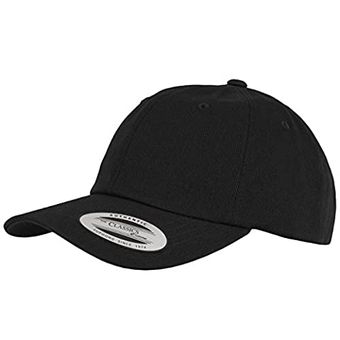 Flexfit casquette Low Profile Cotton Twill taille unique Noir - noir