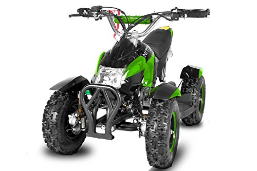 Power mini Kinder Quad Mini Atv 49cc Quad Miniquad Elektro Starter Fernbedienung Kinderquad Cobra 6 Zoll