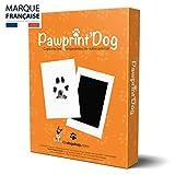 Badogshop.com Kit Empreinte Chien, Tampon Encreur Patte Chien Et Chat, Souvenir Tatouage Et Cadre (Pawprint'Dog) Grande Taille 12,5x8cm
