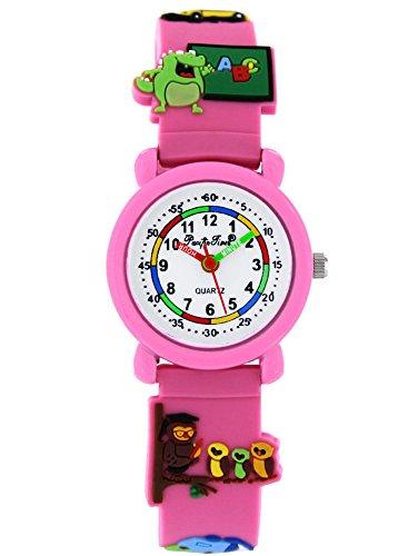 Pacific Time Kinderuhr analog Quarz mit Silikonarmband 86283