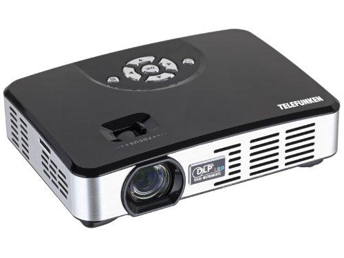 Telefunken DLP 500 Mini LED-DLP Projektor (VGA, 1280x 800 Pixel, 500 ANSI Lumen)