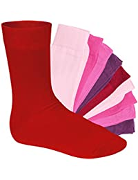 10 pares de calcetines - mujeres | hombres - calcetines negro baya blanco amarillo…