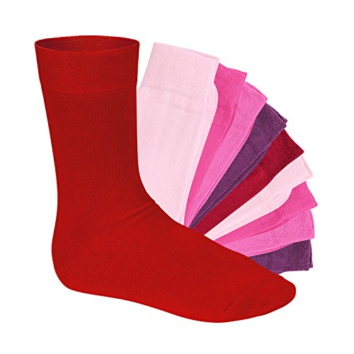 EVERYDAY! - 10 pares de calcetines Berry 39-42