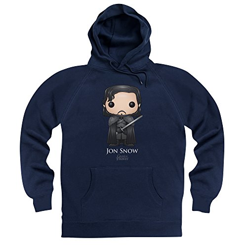 Official Game of Thrones - Funko POP Jon Snow Hoodie, Male