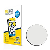 BROTECT AirGlass Flexible Glass Protector for Watches (circular, Diameter: 22mm) Screen Protector Glass - Extra-Hard, Ultra-Light
