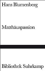 Matthäuspassion (Bibliothek Suhrkamp)