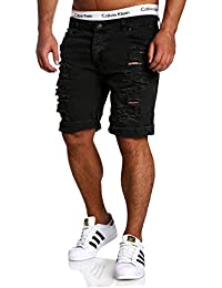 MT Styles Jeans-Bermuda Short Destroyed pantalon RJ-2299