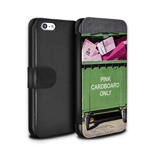 Stuff4 Coque/Etui/Housse Cuir PU Case/Cover pour Apple iPhone 5C / Voyage Par La Route Design / Vers Bas Sous Collection Recyclage Moderne