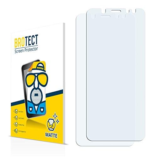 Brotect Schutzfolie Matt Samsung Galaxy A6 (2018) Anti-Reflex Displayschutzfolie [2 Stück] Entspiegelte Folie Displayfolie Anti-Fingerprint